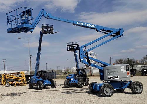 45' All Terrain Powered Articulating Boom Lift
